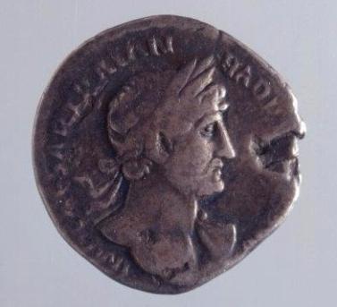 Hadriandenar Vorderseite
