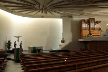 Katholische Kirche Müllheim, Innenraum