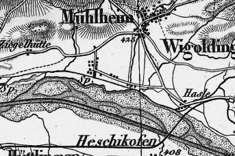 Landestopographie_1878_Alter und neuer Thurlauf