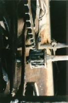 Mechanik der Uhr im Weingarten