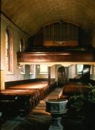 Kirche Innenraum blick gegen Westen vor 1978