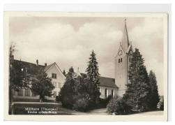 Kirche u. Schulhaus 1931