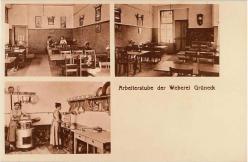 Arbeiterstube der Weberei Grüneck