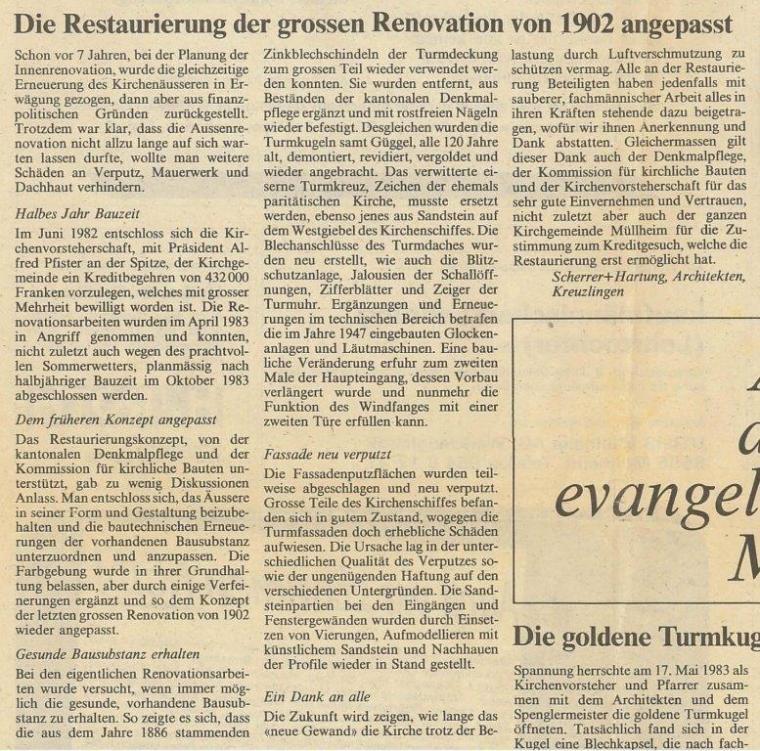 Die Restaurierung der grossen Renovation von 1902 angepasst1
