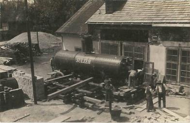 Grüneck Dampkessel
