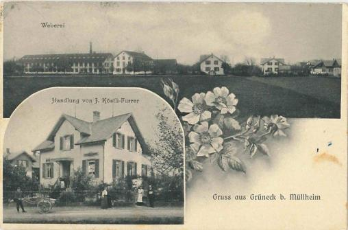 Grüneck Postkarte