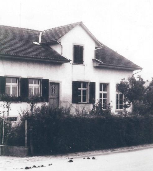 In diesem Haus an der Adlerstrasse war der Kindergarten