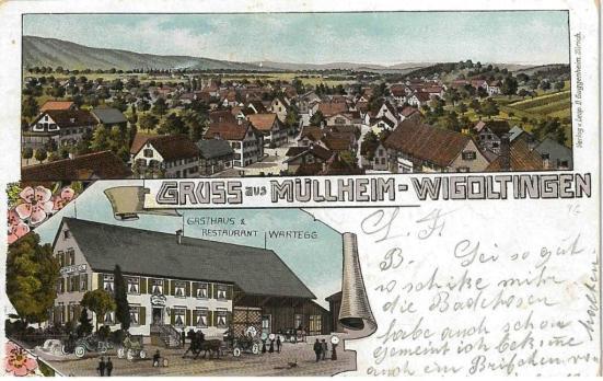 Müllheim Wigoltingen Postkarte