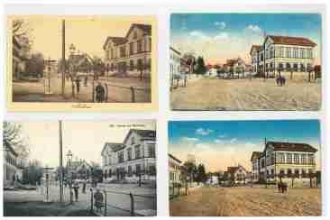Postkarten Schulhaus Ochsen