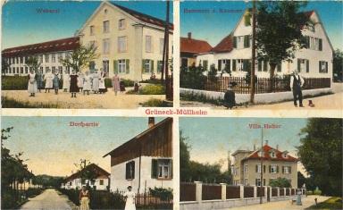 Postkarte Grüneck