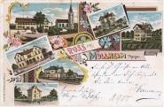 Postkarte 1900