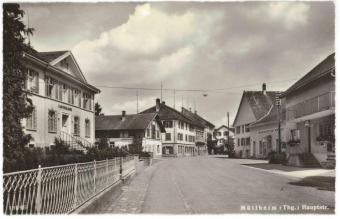 Kreuzlingerstrasse 5, Kantonalbank, Konsum und Traube