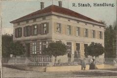 Handlung_Zeichnung auf einer Postkarte von 1914