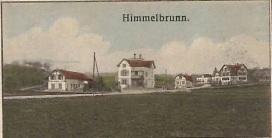 Himmelbrunn_Zeichnung auf einer Postkarte von 1914