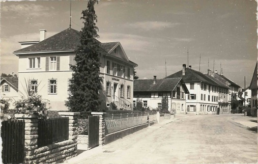 Kantonalbank und Rest. Traube