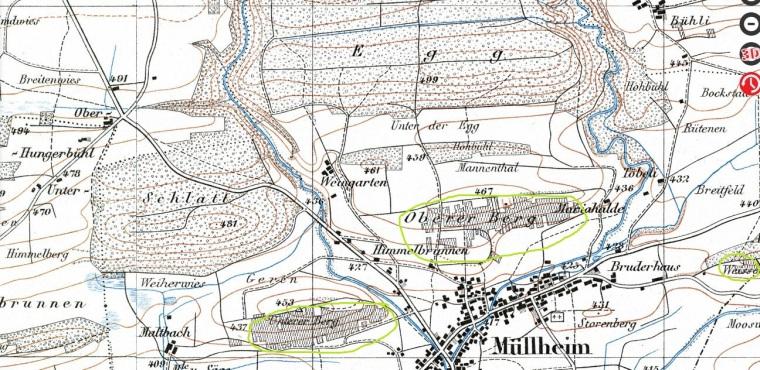 Karte 1927_geoadmin_Rebberge