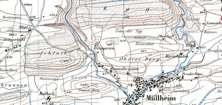 Karte 1928_geoadmin_Rebberge
