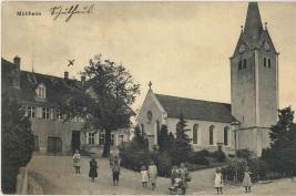 Kirche von der Hauptstrasse