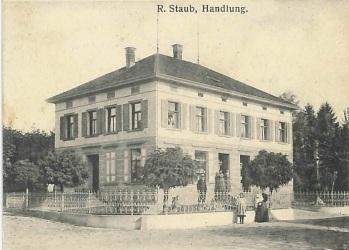 Kreuzlingerstrasse 1, Handlung Staub