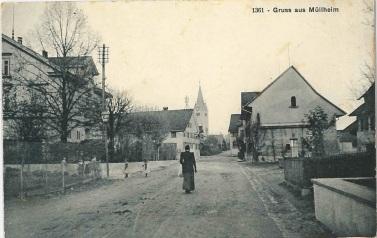 Kreuzlingerstrasse 26, Blick Richtung Kirche