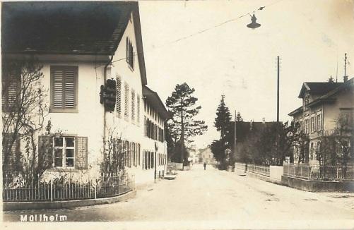 Kreuzlingerstrasse 32, Blick Richtung Rebstock