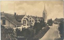 Kreuzlingerstrasse, Blick Richtung Kirche