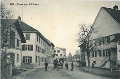 Restaurant Traube, Postkarte von 1911