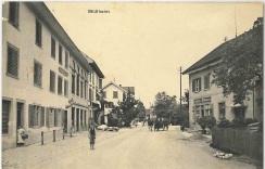 Restaurant Traube, Postkarte von 1912